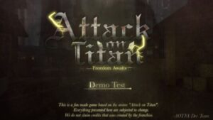 Read more about the article Roblox Script Attack on Titan: Freedom Awaits Autofarm And More