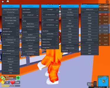 Roblox Mad City TROLL GUI, GIVE PLAYERS GLIDER, FE INVISIBLE & FE BRICK SPAM